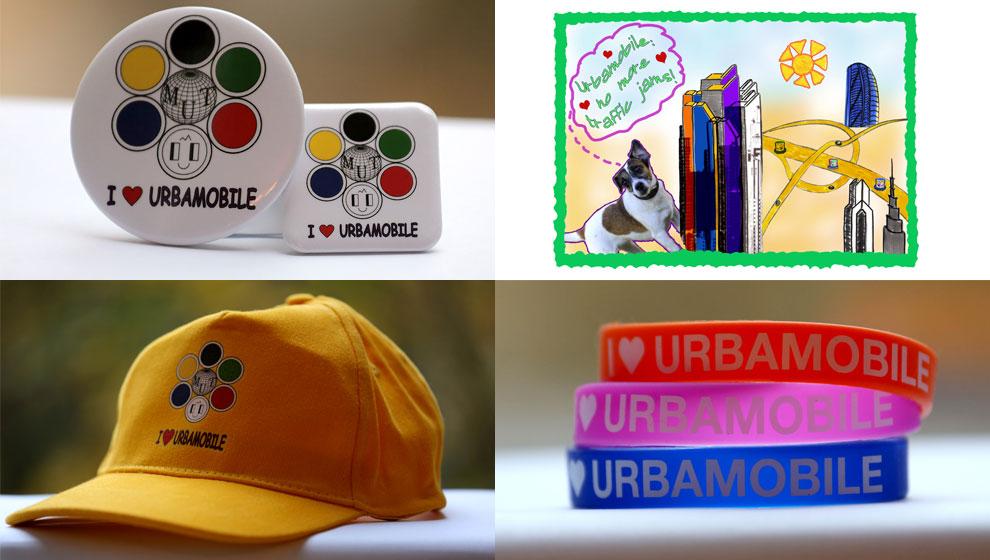 Рекламная продукция Урбамобиля