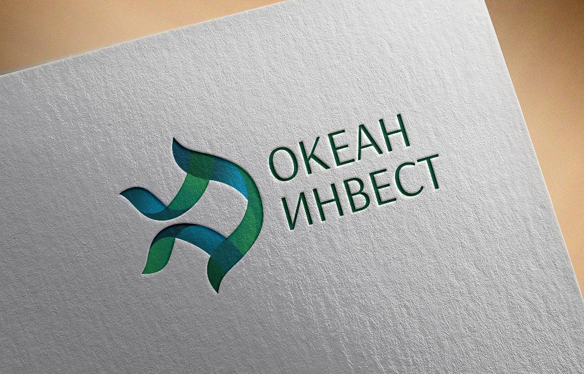 Отрисовка логотипа в векторе для компании Океан Инвест