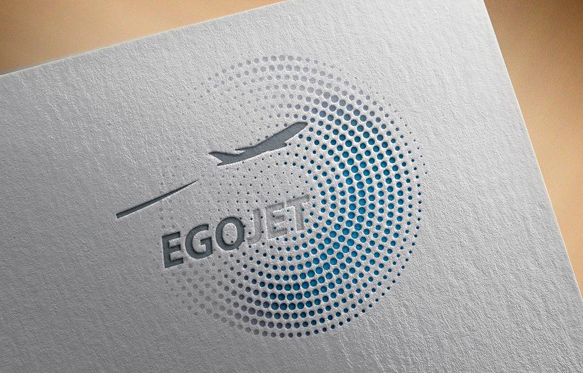 Отрисовка логотипа в векторе для компании EgoJet
